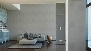 Graue Wandfarbe Wohnzimmer : tapete grau wohnzimmer tapetenkollektion palazzo futuro tapeten wohnzimmer beispiele jtleigh ~ Sanjose-hotels-ca.com Haus und Dekorationen
