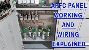 Apfc Panel Wiring Explained In Detail