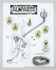 New Les Paul Pots Switch Wiring Kit For Gibson Guitar