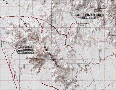 big horn mountains wilderness blm sites in arizona