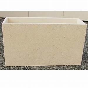 Jardiniere Beton Cellulaire : bac a fleurs exterieur beton ~ Melissatoandfro.com Idées de Décoration