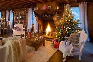 Schweden Style Einrichtung : weihnachten im chalet stil festliche deko mit alpen ~ Lizthompson.info Haus und Dekorationen