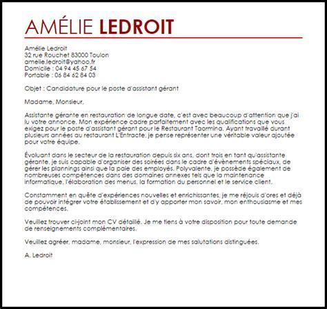 lettre de motivation apprentissage cuisine lettre de motivation gratuite restauration html