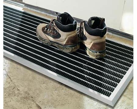 Steel Doormat by Aluminum Scraper Doormat Remodelista
