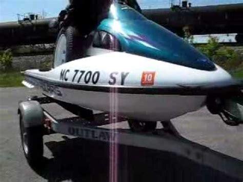 polaris slh jet ski  horsepower youtube