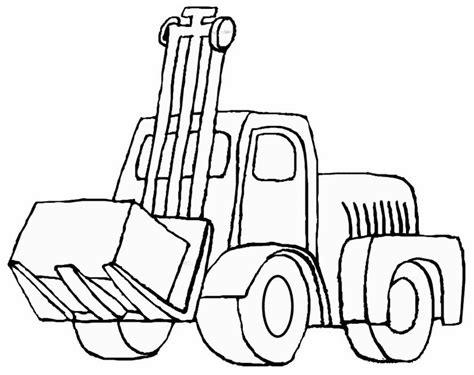 mewarnai gambar traktor mewarnai gambar
