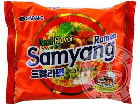 samyang spicy flavored ramen