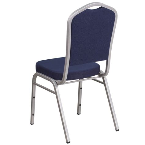 hercules series crown back stacking banquet chair with
