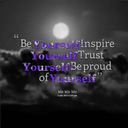 Feeling Proud of Yourself Quotes