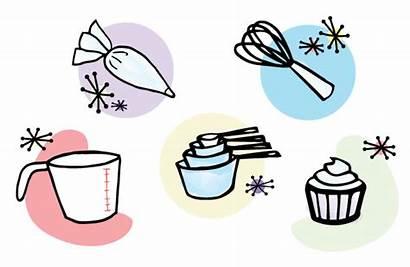 Baking Tools Equipment Clipart Items Essential Baker