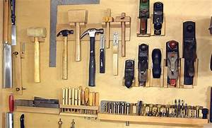 Not a french cleat system for organizing hand tools - YouTube