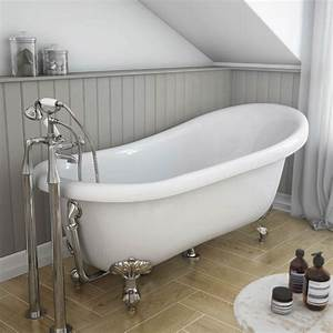 Carlton classic roll top slipper suite online at for Slipper bathroom suites