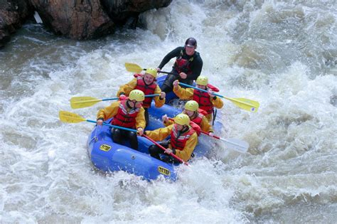 The Numbers - White Water Rafting in Colorado