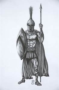 Ancient Greek Warrior by christopherbarton on DeviantArt