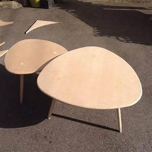 DIY Table Basse Tripode Gigogne Meubles Fabrication