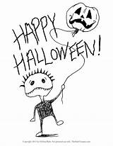 Halloween Coloring Pages Printable Themed Printables Getcolorings Finished sketch template