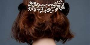 Coiffure Mariage Cheveux Courts Photos : les plus belles coiffures de mariage pour cheveux courts marie claire ~ Melissatoandfro.com Idées de Décoration
