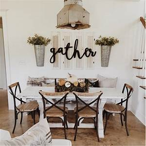 25 must try rustic wall decor ideas featuring the most With kitchen cabinet trends 2018 combined with wall art words sayings
