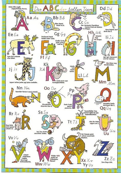 abc der tiere im kinderpostershop abc der tiere poster