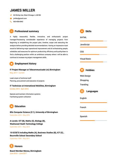 Help Build My Resume by Resume Maker Create A Resume In 5 Minutes