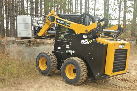 asv skid steers  spec guide compact equipment