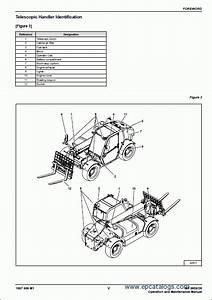 Massey Ferguson 8947 Telescopic Handler Workshop Service Mf