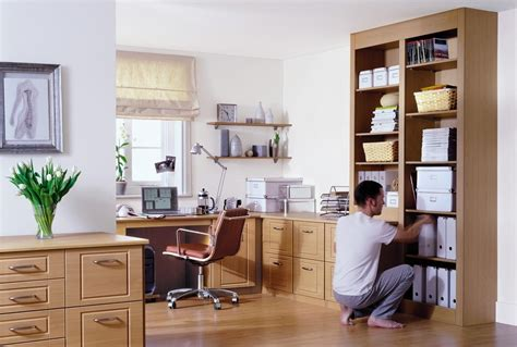 15 Photo Of Fitted Home Office Furniture