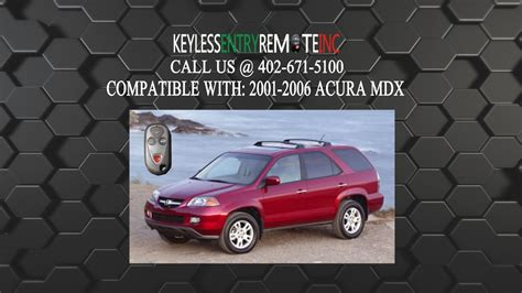 replace acura mdx key fob battery