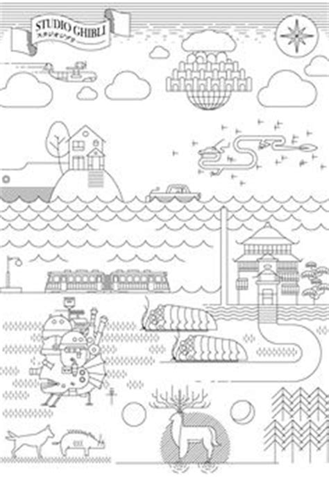 Howl's Moving Castle outline #Ghibli | NerdyWhatNot