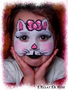 Maquillage De Fête : maquillage hello kitty fete foraine face makeup halloween face et halloween face makeup ~ Melissatoandfro.com Idées de Décoration