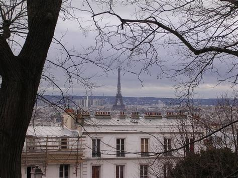 Les Jardins De Montmartre To Eiffel Tower by The Eiffel Tower From Montmartre Picture Of Paris Ile
