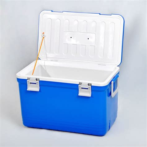 fan with ice compartment plastic ice cooler box for c picnic food drinks