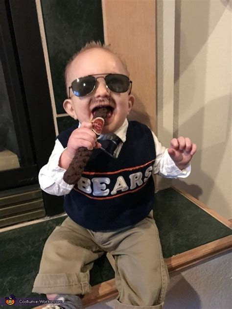 coach mike ditka baby costume