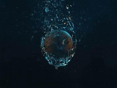 Water Drop Drops Splash Particle Create Particles
