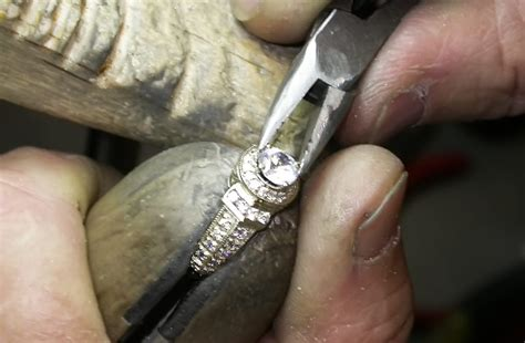 engagement ring manufacturing process james allen