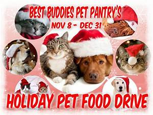 best buddies pet pantry39s holiday pet food drive patch With buddies dog food