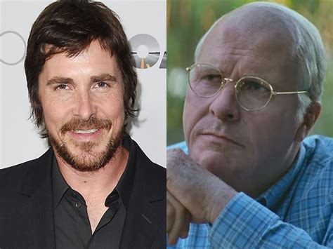 Christian Bale Looks Completely Unrecognizable Dick