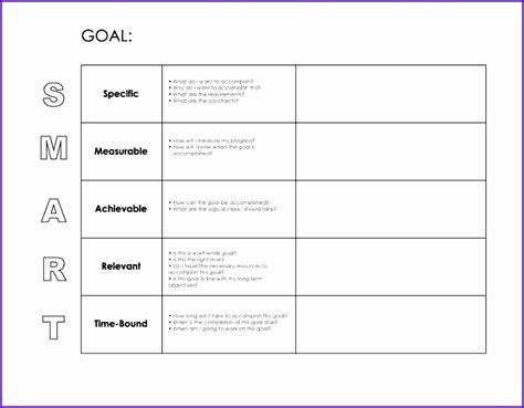 goals template excel excel templates excel templates
