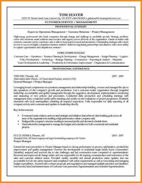 7 construction project manager resume sles driver resume