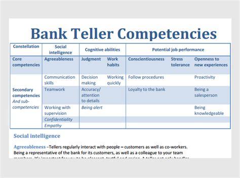 bank teller assessment sample questions jobtestprep