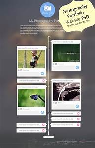 Photography Portfolio Website Template Design Psd From Css