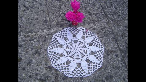 Como Hacer Tapete,carpeta A Crochet Paso A Paso