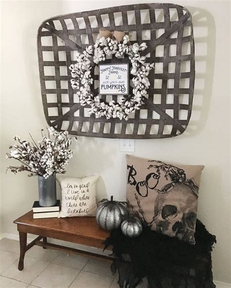 17 best ideas about tobacco basket decor on tobacco basket farmhouse fireplace and
