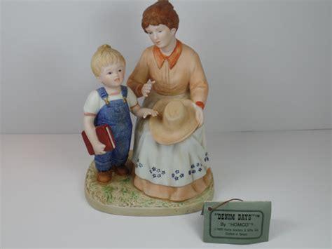 vintage figurine homco denim days danny 39 s figurine