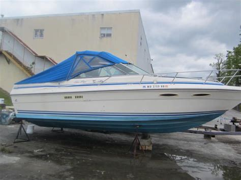Ebay Boats For Sale Essex by Sold Riverside Marine Essex Md 1988 Sea 270