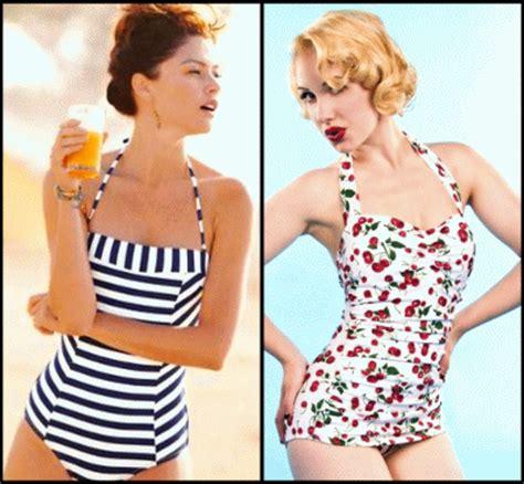 costumi da bagno vintage quest estate per la donna chic costumi da bagno r 233 tro