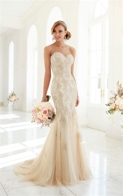 Wedding Dresses Vintage Lace Wedding Dresses Stella York