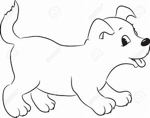 Dog Cartoon Drawing - Drawing Sketch Library