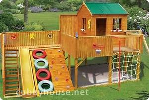 How a cubby house can help reduce a child's weight Cubby