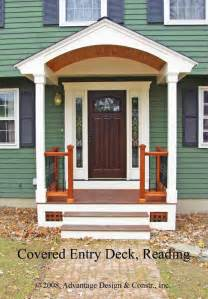 portico front of house front door pictures ideas entry deck in reading ma